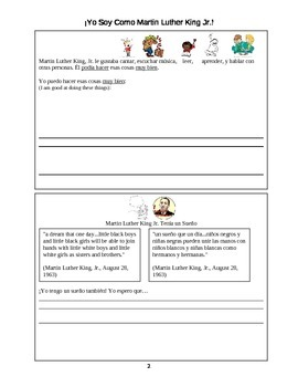 Martin Luther King Jr. Packet - Spanish