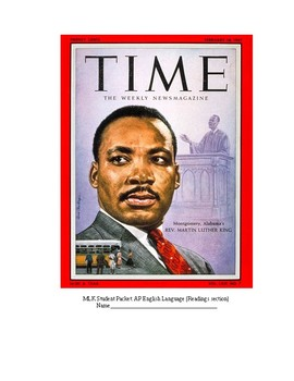 Martin Luther King Jr. Packet: Writings and Speeches that Changed the World