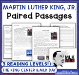 Martin Luther King, Jr.: Paired Passages/Texts