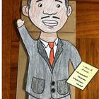 Martin Luther King Jr. Paper Bag Puppet