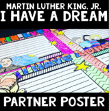 Martin Luther King, Jr. Partner Poster: A 4-Panel Collaborative Poster