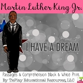 Martin Luther King Jr Passages and Questions in Black and