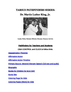 Martin Luther King, Jr. Pathfinders