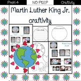 Martin Luther King Jr./ Peace Craftivity