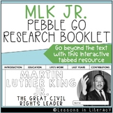 Martin Luther King Jr.: Pebble Go