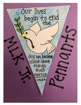 Martin Luther King Jr. Pennants