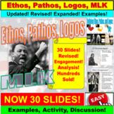 Martin Luther King Jr. PowerPoint: Ethos, Pathos, Logos