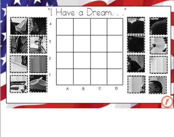 Martin Luther King, Jr. Picture Graph for the Smart Board