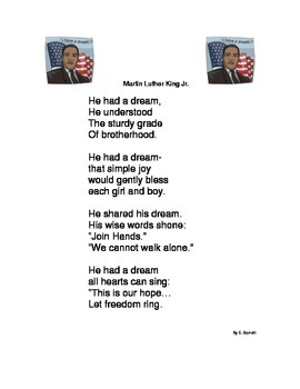 Martin Luther King Jr. Poem