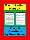 Martin Luther King Jr. Poem Literacy Packet