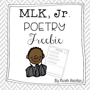 Martin Luther King, Jr. Poem for Young Learners