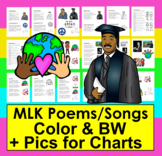 Martin Luther King, Jr. Activities: Poems / Songs - Shared Reading & Fluency