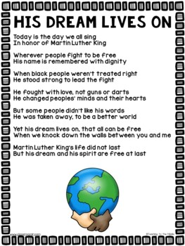 Free Martin Luther King Jr Printable Education T Martin