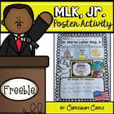 Martin Luther King Jr. Poster Activity FREEBIE!