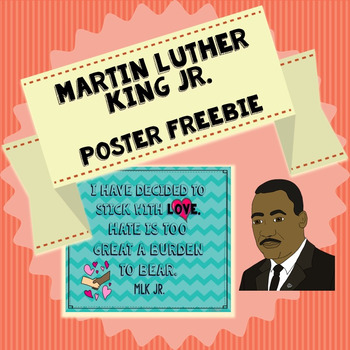 Martin Luther King Jr. Poster Freebie