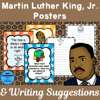Martin Luther King, Jr. Posters and Writing Suggestions