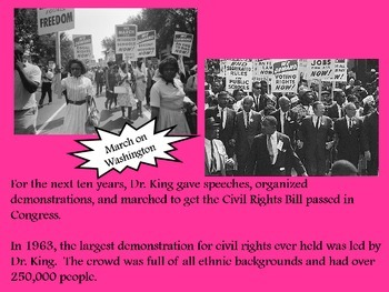 Martin Luther King Jr. Power Point