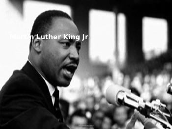 Martin Luther King Jr - Power Point - Life History Civil R