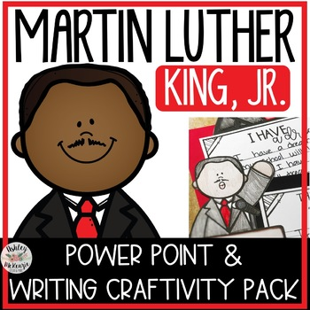 Martin Luther King Jr. Power Point & Activities Pack