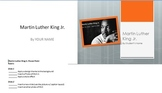 Martin Luther King Jr. Power Point assignment for Computer Applications