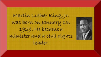 Martin Luther King, Jr. PowerPoint
