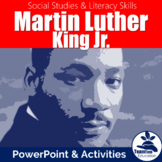 Martin Luther King Jr. PowerPoint (Martin Luther King Day)