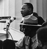 Martin Luther King Jr. PowerPoint and NewsReel Video (Blac