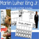 Martin Luther King Jr. PreK Reading & Math Activities