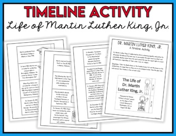 Martin Luther King, Jr. Activities - Black History Month