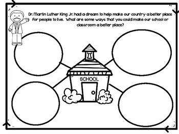 Martin Luther King Jr. Character Activity