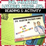 Dr. Martin Luther King Jr. Holiday Reading Activity