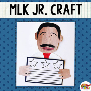 Martin Luther King, Jr. Printable Craft Template