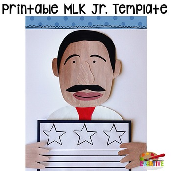 Martin Luther King, Jr. Printable Craftivity Template