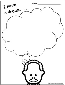 Martin Luther King, Jr - Printables for Primary Students (Free)