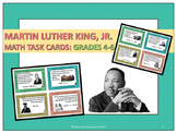Martin Luther King Jr. Problem Solving: Math Task Cards Grades 4 - 6