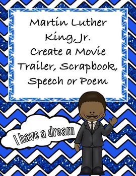 Martin Luther King, Jr. Project - Four Projects for Middle School