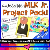 Martin Luther King Jr. AWESOME Project Pack!  Activities for celebrating MLK Jr!