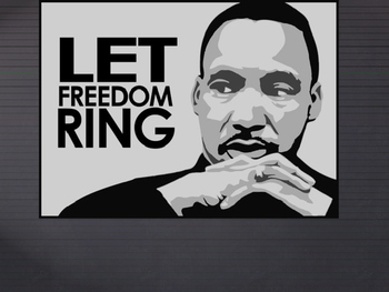 Martin Luther King Jr - Prompts for discussion and terrific writing