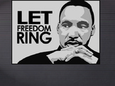 Martin Luther King Jr - Prompts for discussion and terrifi