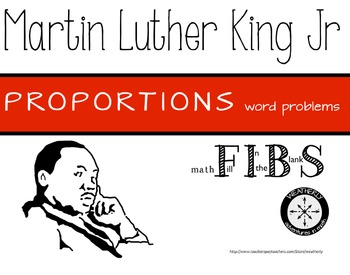 Martin Luther King Jr. - Proportions in Real World applications