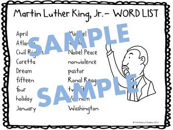 Martin Luther King, Jr. Puzzle