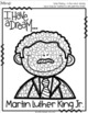 Martin Luther King Jr. Q-tip Painting Activity