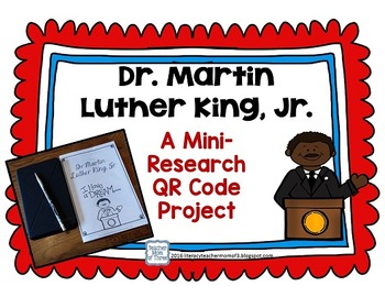 Martin Luther King Jr. QR Code Project