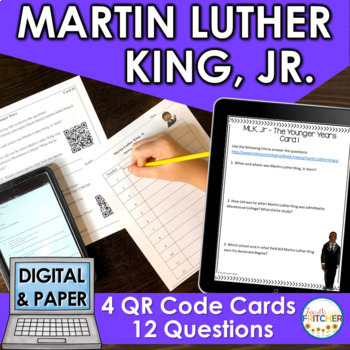 QR Code Quest: Martin Luther King, Jr.