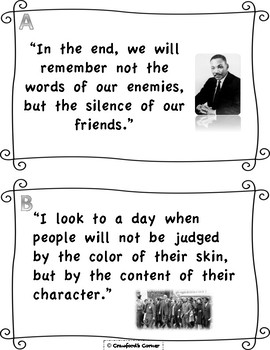 Martin Luther King Jr. Quote Analysis