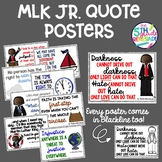 Martin Luther King Jr Quotes Poster *Color ink friendly ve