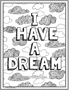 Martin Luther King, Jr. (MLK) Coloring Pages - 15 Fun, Creative Designs!