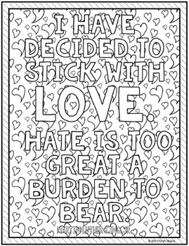 Martin Luther King, Jr. | MLK Coloring Pages | 15 Fun, Creative Designs