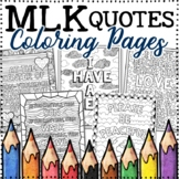 Martin Luther King, Jr. | MLK Coloring Pages | 15 Fun, Cre