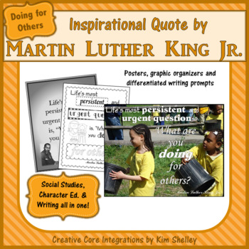Martin Luther King Jr. Quotes DOING for OTHERS